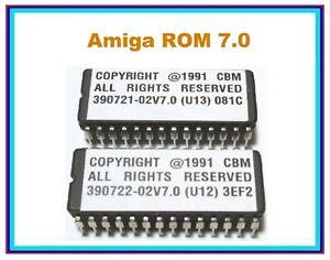 Commodore-Amiga-A2000-A3000-2091-A2091-590-A590-SCSI-Interface-ROM-7-ROMS-7-0