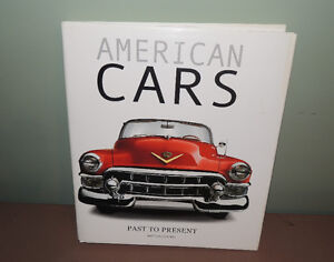 AMERICAN CARS  HARD COVER BOOK