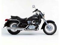 Wanted : 125 Cruiser Motorcycle e.g Honda Shadow, Yamaha XVS, Suzuki Intruder