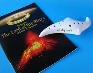 ELF OCARINA - STL 12 HOLE C MAJOR + LORD OF THE RINGS SONGBOOK!