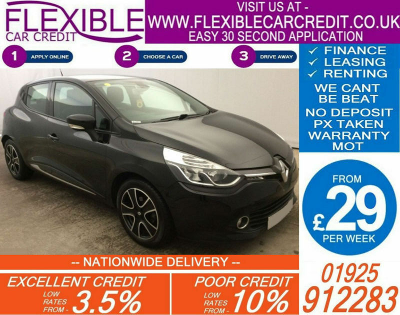 2013 RENAULT CLIO 1.2 DYNAMIQUE GOOD / BAD CREDIT CAR FINANCE AVAILABLE