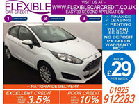 2014 FORD FIESTA 1.25 STYLE GOOD / BAD CREDIT CAR FINANCE AVAILABLE