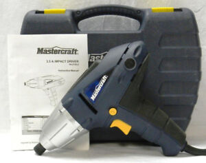 MasterCraft 3.5-amp Impact Wrench Kit