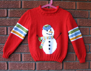 Snowman Pullover- size 6  -Brand new- *on sale*