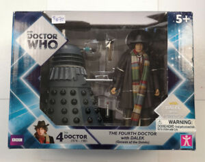 BBC Doctor Who The 4th Doctor with Dalek Action Figures