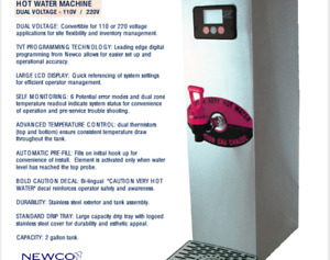 Hot Water Tower - 3 Units Available - Newco NHW-15