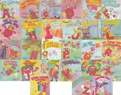 Original Letter People A-Z The Fables From PDF Book SET Collection on CD DISC