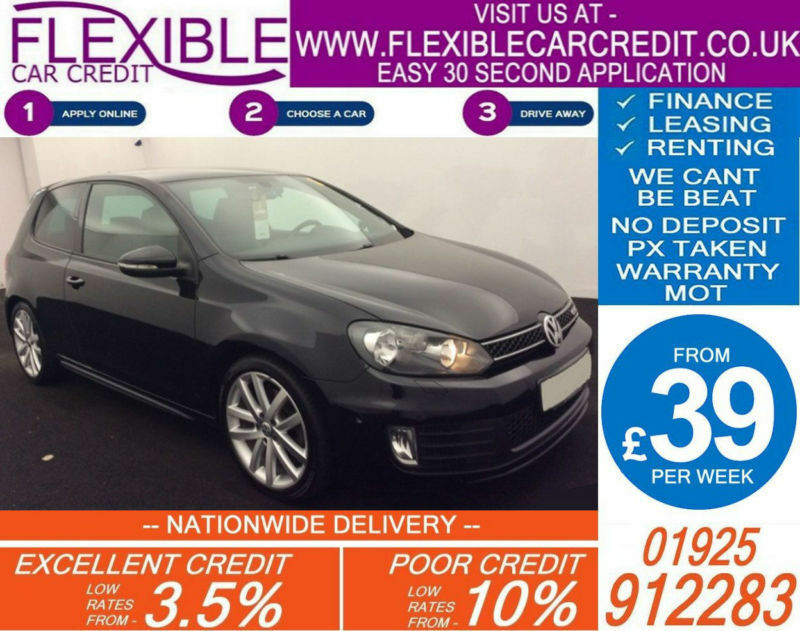 2010 VW GOLF 2.0 TDI GTD DSG GOOD / BAD CREDIT CAR FINANCE AVAILABLE