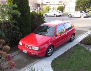 1995 Volkswagen GTI red Coupe (2 door)