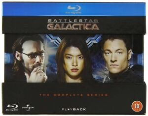 BLU-RAY! BATTLESTAR GALACTICA ALL 5 SEASONS BOX SET