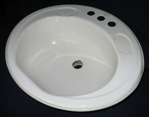 Oval Shaped Marina Sink