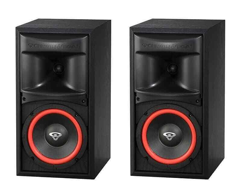 "CERWIN VEGA Home Audio XLS 6 6 1/2"" 2 Way Bookshelf Speaker,"