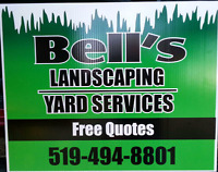 Bells Landscaping/Yard Services