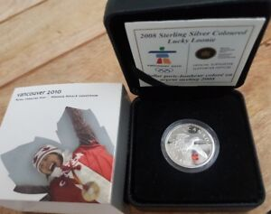 2008 Silver Colored Lucky Loonie - Vancouver Olympics