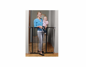 NEW Regalo Deluxe Easy Step Extra Tall Gate, Black 1166B