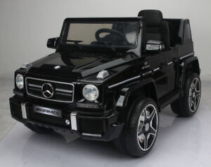 Licensed 12V Mercedes G63 Baby / Child / Kid Ride-On Toy, Remote