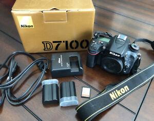Nikon D7100 Body & Accessories
