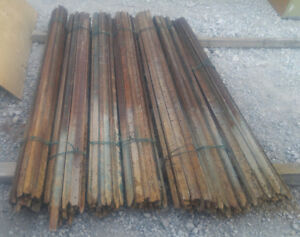 Steel fence post , T-post 6ft  used available 7days a week