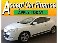 Renault Megane 1.5dCi 110 FAP ECO 2011 FROM £25 PER WEEK!