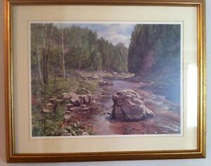 Peter Etril Snyder Numbered and Pencil Signed Framed Prints (2) Cambridge Kitchener Area image 4