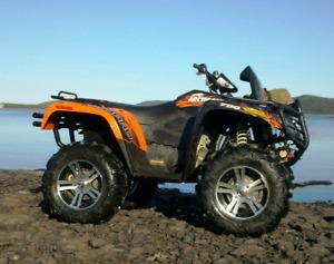 2012 Arctic Cat Mud Pro 700 Ltd with Plow