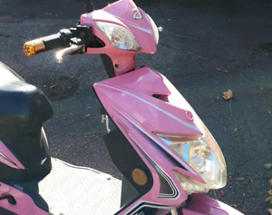 Pink eBike (scooter) for sale!