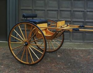 Carriage Horse, Cart