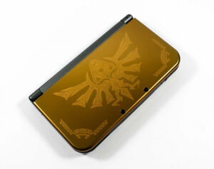"RARE Dual IPS - ""NEW"" Nintendo 3DS XL - ( Zelda Hyrule Edition )"
