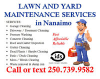 Affordable Yard and Driveway Cleaning