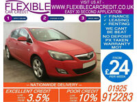 2011 VAUXHALL ASTRA 1.6 SRI GOOD / BAD CREDIT CAR FINANCE AVAILABLE