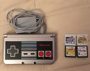 MINT 3DS with games
