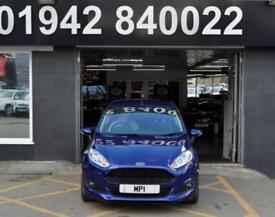 2015 15 FORD FIESTA 1.0 ZETEC S 3D 124 BHP 3DR NEWSHAPE HATCH, 1 OWNER, 14,000M