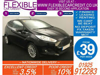 2014 FORD FIESTA 1.0 ECOBOOST TITANIUM GOOD / BAD CREDIT CAR FINANCE AVAILABLE