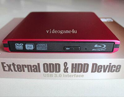 Usado, USB 3.0 External Panasonic UJ-240 6X Blu-Ray Burner Writer BD-RE DVD RW Drive comprar usado  Enviando para Brazil