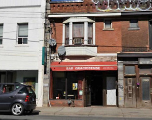 Excellent Opportunity In Roncesvalles. Two Storey Mixed Use Bric
