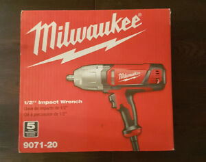 Mint condition Milwaukee Corded Impact Wrench