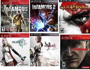 PS3 Games jeux NEUF NEW
