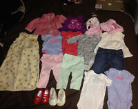 0-3 month babygirl clothing