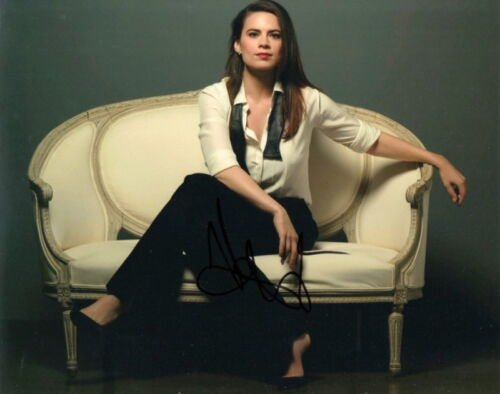 HAYLEY ATWELL.. Sophisticated Stunner - SIGNED