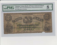 Extremely rare banknote from the union bank of PEI