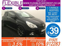 2011 VAUXHALL CORSA 1.6 VXR NURBURGRING EDT GOOD / BAD CREDIT CAR FINANCE AVAIL