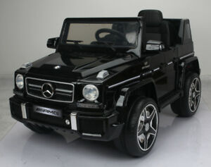 Licensed 12V Mercedes Benz G63 Child / Kid Ride-On, 2.4Ghz Remot