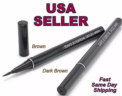 7 Days Eyebrow Tattoo Pen Liner Eye Makeup Cosmetic Usa Seller Fast Free Ship