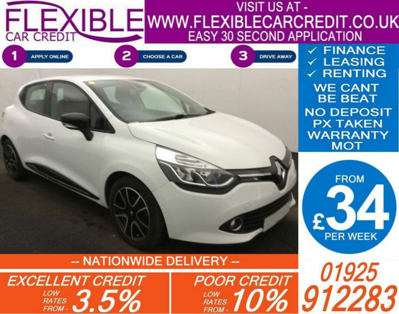 2013 renault clio 1 2 dynamique good bad credit car finance available in bletchley. Black Bedroom Furniture Sets. Home Design Ideas