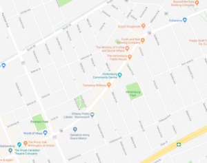 WANTED: Long term rental of 7 parking spaces in Hintonburg