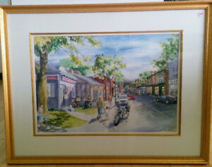 Kathryn Smith, Locke Street, original painting