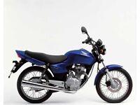 Honda 125 commuter motorbike