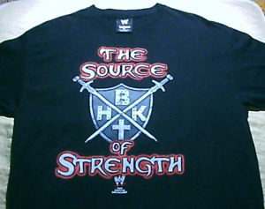 Vintage WWE Shawn Michaels Source Of Strength Cross T Shirt