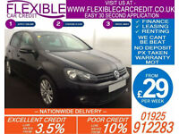 2010 VW GOLF 2.0 TDI 140 MATCH GOOD / BAD CREDIT CAR FINANCE AVAILABLE