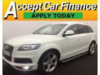 Audi Q7 S LINE FROM £150 PER WEEK!
